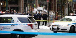 Policías matan a hombre que los amenazó con un cuchillo en NY