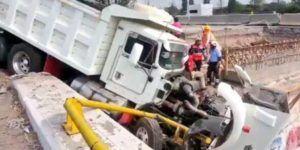 Un muerto por carambola en la Autopista México-Querétaro