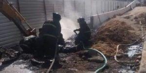 Excavadora ocasiona fuga de gas en Naucalpan