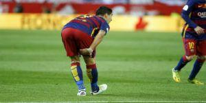 Barcelona confirma lesión de Luis Suárez