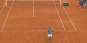 Video: el impresionante punto de Rafael Nadal