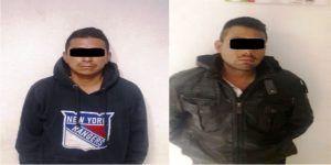 Detienen a dos choferes por lanzar petardos en Chimalhuacán