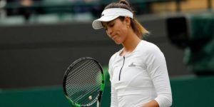 Eliminan a Muguruza en segunda ronda de Wimbledon