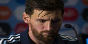 """Después de la final diré qué pienso de la AFA"": Messi"