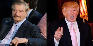 """""""Donald Trump es un peligro"""": Vicente Fox"""