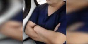 Mujer exhibe a hombre que la acosó en trasporte público