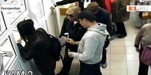 Video: mujer se cuela en la fila y termina robada