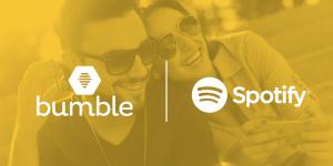 Spotify se alía con Bumble en aplicación para citas