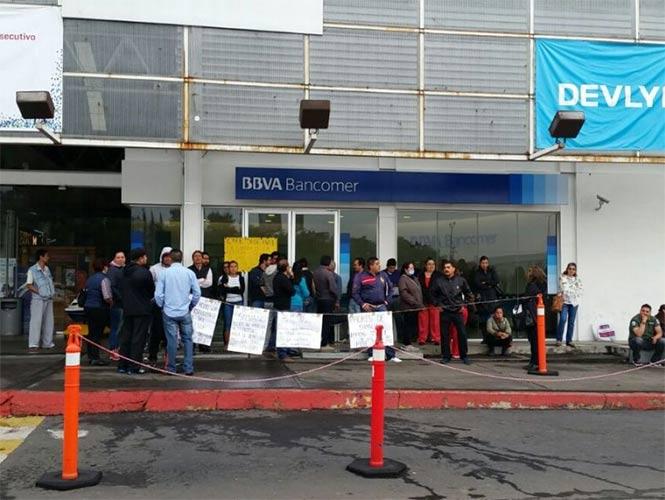 CNTE levanta toma de sucursales bancarias