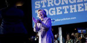Hillary Clinton candidata demócrata a la presidencia de Estados Unidos