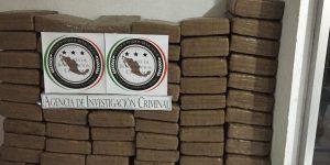 Decomisan 141 kilos de mariguana en Jalisco