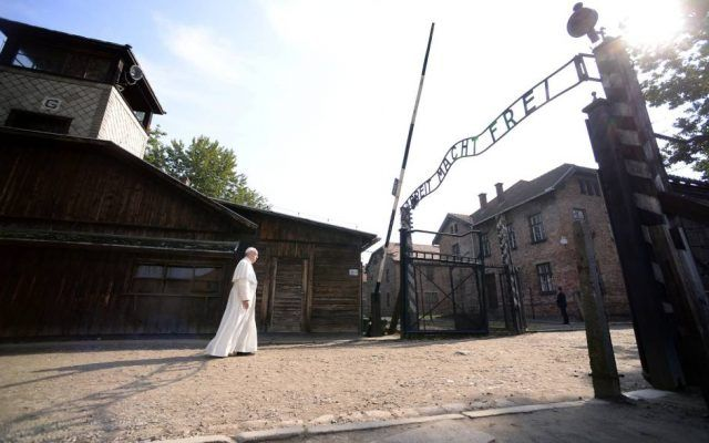 Papa Francisco Auschwitz - Reuters