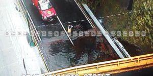 Se inunda desnivel de Viaducto