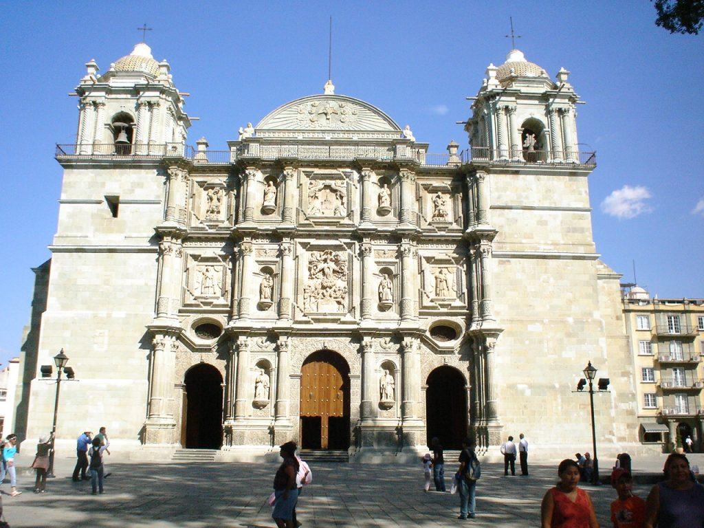 Catedral Metropolitana de Oaxaca. Foto de Internet