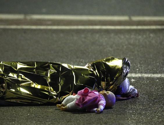 Varios niños resultaron heridos o muertos durante el ataque en Niza. Foto de Reuters