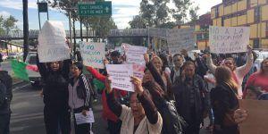 Bloqueos de la CNTE en la Ciudad de México