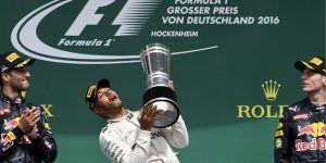Hamilton gana el Gran Premio de Alemania