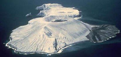 Isla San Benedicto. Foto de internet