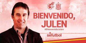 Julen Lopetegui nuevo entrenador de España