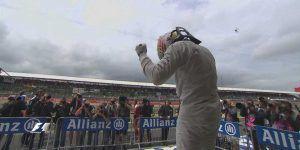 Lewis Hamilton se queda con la 'pole' en Silverstone