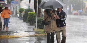 Lluvias afectarán norte, occidente y sur de México