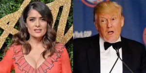 Donald Trump pagó 120 mil dólares por pasar el día con Salma Hayek