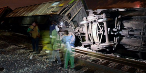 Descarrila tren en Zacatecas