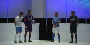 Cruz Azul presenta sus nuevos uniformes