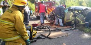 Choque en Veracruz deja 73 heridos