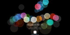 Apple 7 Septiembre Keynote