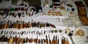 Policía asegura armas y droga en cateo a penal de Ciudad Victoria