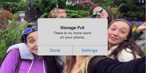 Video: Google se burla de capacidad de almacenamiento de iPhone