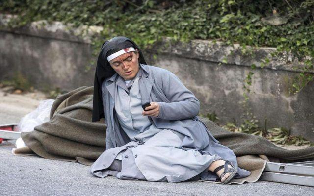 El terremoto en Italia