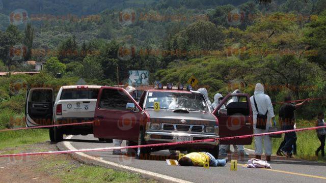 Director de SP de Tiquicheo muere en atentado a tiros
