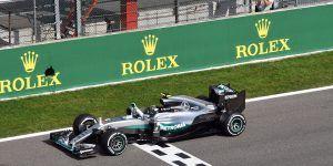 Rosberg se queda con el GP de Bélgica