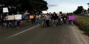 Familiares de desaparecidos en Salamanca bloquearon carretera