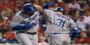 Dos cuadrangulares de Adrián González dan la victoria a los Dodgers