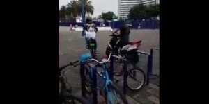 Video: roban bicicleta en Buenavista