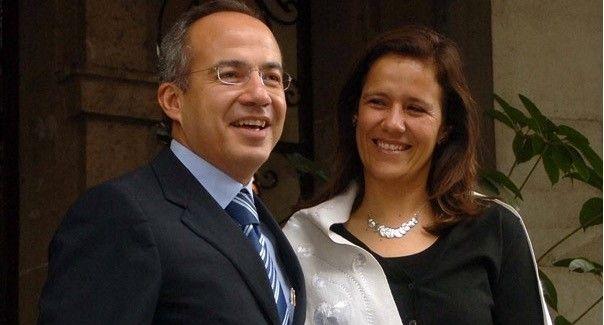 Dona Calderón su pensión de expresidente a niños