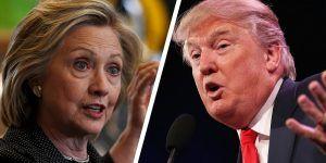 Clinton supera a Trump por apenas 4 puntos a nivel nacional