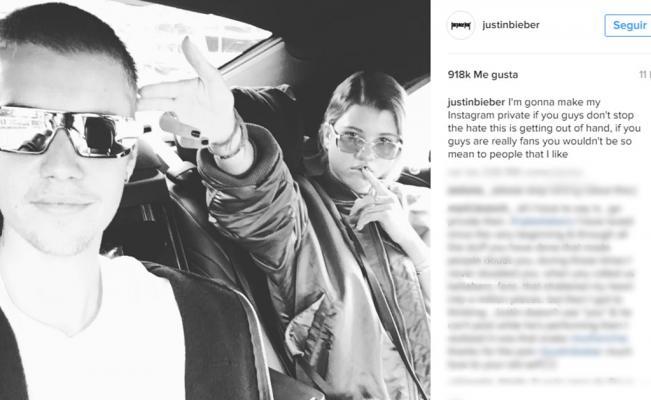 Foto de Justin Bieber / Instagram