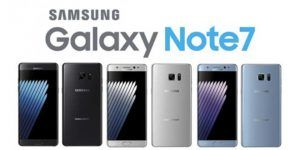 Samsung deshabilitará el Galaxy Note 7