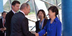 Sorprendente regalo de Putin a la presidenta de Corea del Sur