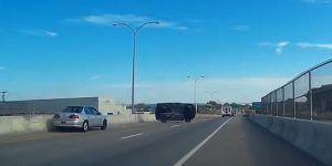 Video: volcadura de camioneta en autopista