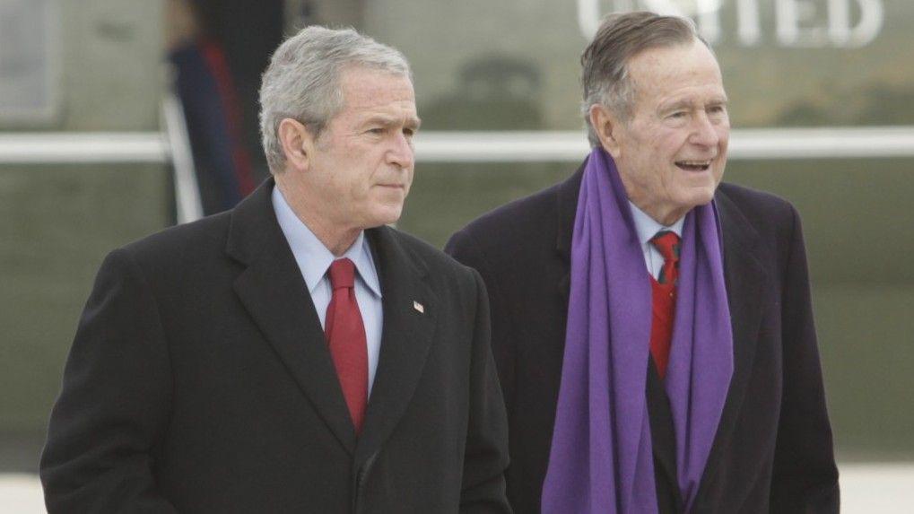 George Bush llama