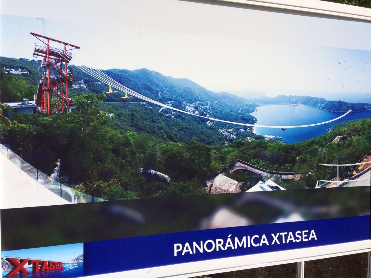 Resultado de imagen para Tirolesa Xtasea acapulco