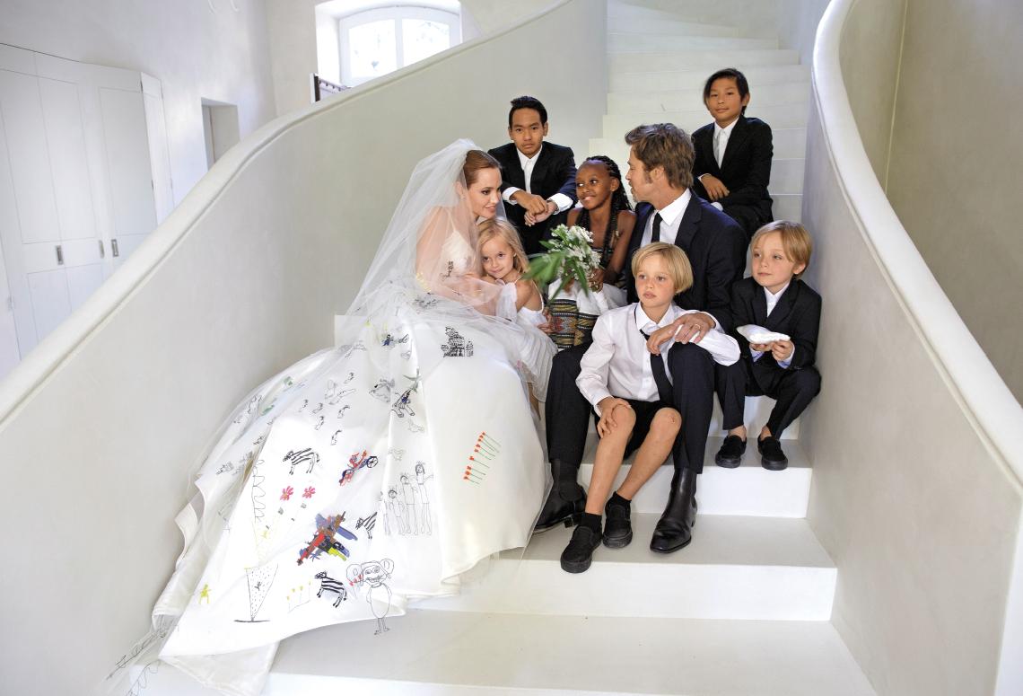 La pareja, tras vivir juntos desde 2004, decidió casarse en agosto de 2014. Foto de internet.