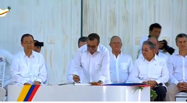 Colombia y las FARC logran nuevo acuerdo de paz