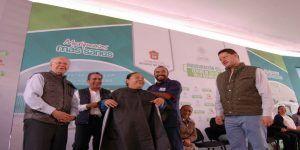 Inaugura Gómez Monge y Narro Robles centro de salud