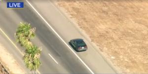 Video: persecución en California